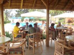 Lunch at Des Mille Collines (Hotel Rwanda)
